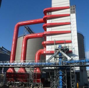 300吨玉米烘干塔图片